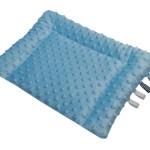 poduszka minky niebieska 2 z