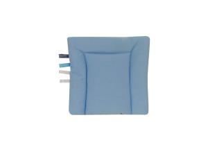 poduszka bawełna niebieska 1