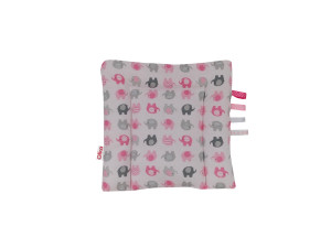 poduszka bawełna róż