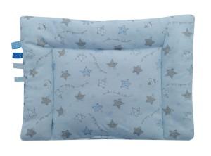 poduszka velvet niebieska 3 z