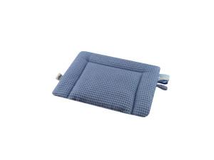 poduszka wafelak niebieska